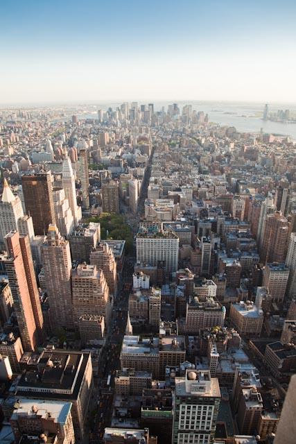 NYC Overhead view